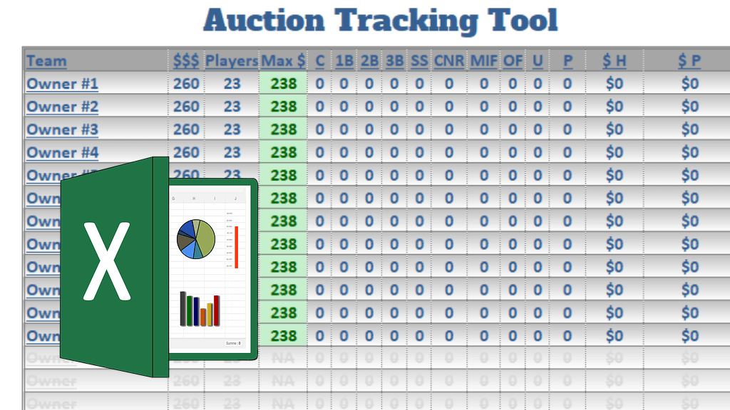 Excel Tools for Fantasy Baseball